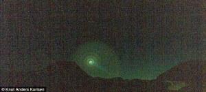 نور آبی عجیب نروژ