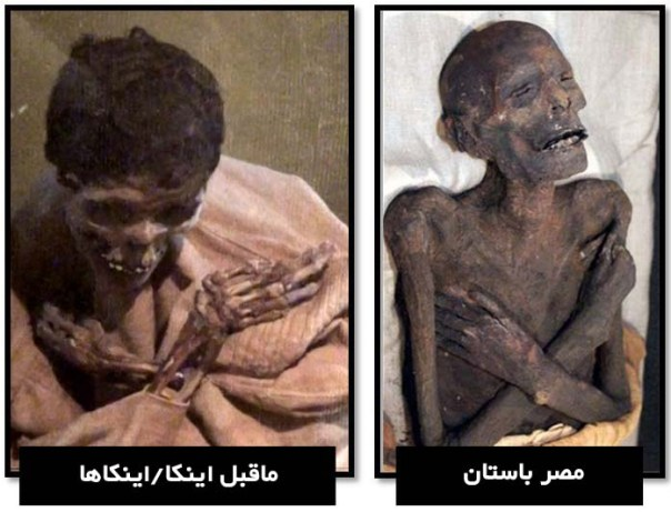 Egyptian-Inca-mummies-crossed-arms