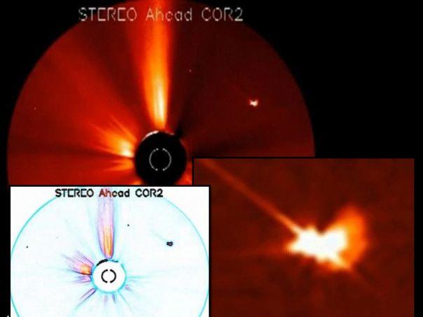 ufo beam sun anomalies
