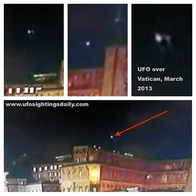 UFO, UFOs, sighting, sightings, Justin Bieber, ET, Alien, aliens, orb, orb, Pope, 2013, March, Francis, Rome, Italy, Vatican, news, world