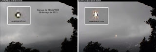 Popocatepetl CENAPRED originalET, UFO, UFOs, sighting, sightings, alien, aliens, mexico, news, june, 2013,