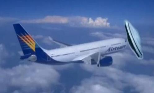 UFO colidiu com um Boeing 757 pertencente -- Air China_497x300
